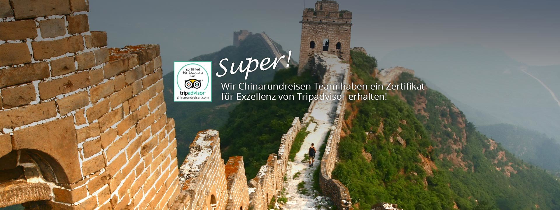 China Sommerurlaub